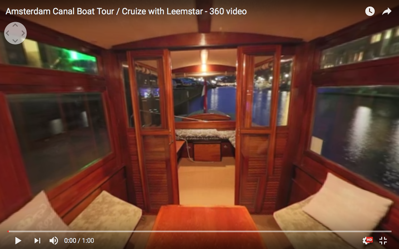 Welcome at Leemstar Amsterdam, for personal canal cruises. Leemstar provides in personal guided small boat canal tours. - video 1