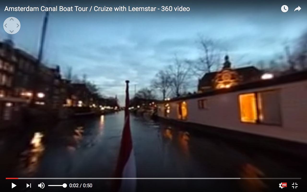 Welcome at Leemstar Amsterdam, for personal canal cruises. Leemstar provides in personal guided small boat canal tours. - video 2